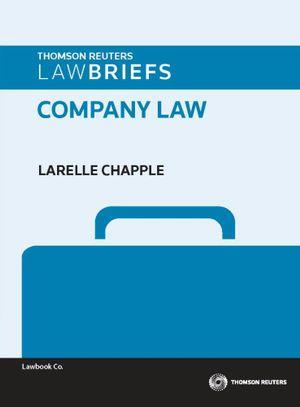 Cover of LawBriefs: Company Law 1e