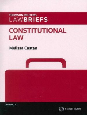 Cover of LawBriefs: Constitutional Law 1e