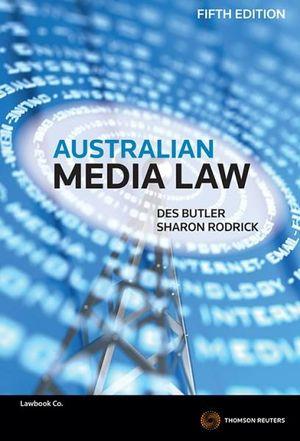 Cover of Australian Media Law