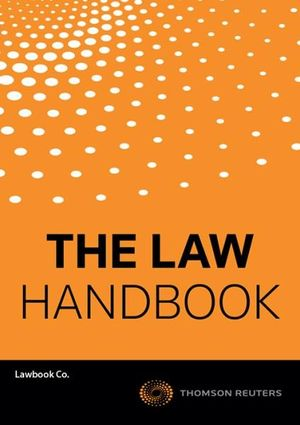 Cover of Law Handbook 13e