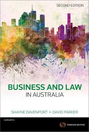 Cover of Business and Law in Australia 2e