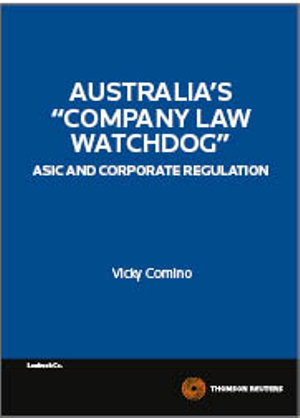 "Cover of Australia's ""company Law Watchdog"""
