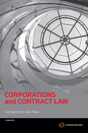 Cover of Corporations and Contract Law