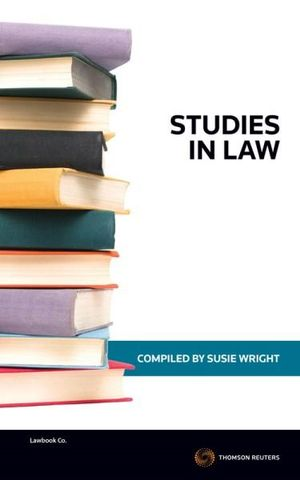 Cover of Studies in Law