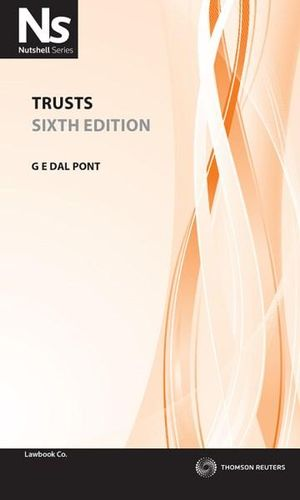 Cover of Trusts 6e