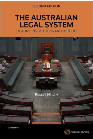 Cover of The Australian Legal System