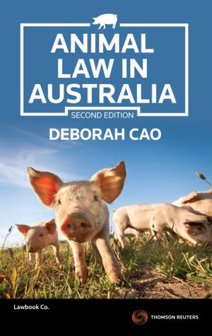 Cover of Animal Law in Australia and New Zealand 2e