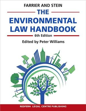Cover of Environmental Law Handbook