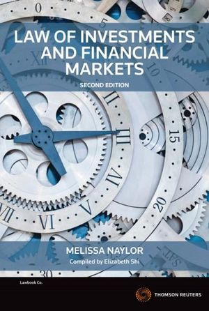 Cover of Law of Investments and Financial Markets