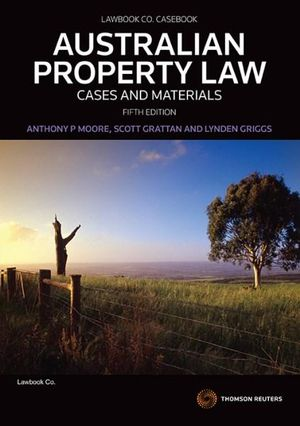 Cover of Australian Property Law: Cases and Materials