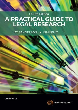 Cover of PRACTICAL GUIDE TO LEGAL RESEARCH.
