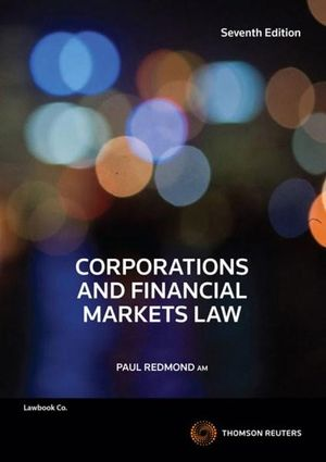 Cover of CORPORATIONS & FINANCIAL MARKETS LAW.