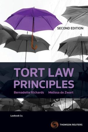 Cover of Tort Law Principles