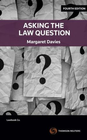 Cover of ASKING THE LAW QUESTION.
