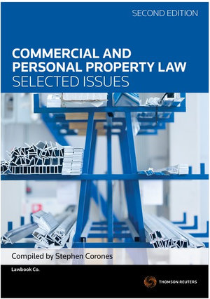 Cover of Commercial and Personal Property Law