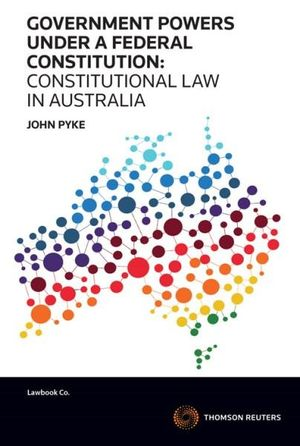 Cover of GOVERNMENT POWERS UNDER A FEDERAL CONSTITUTION