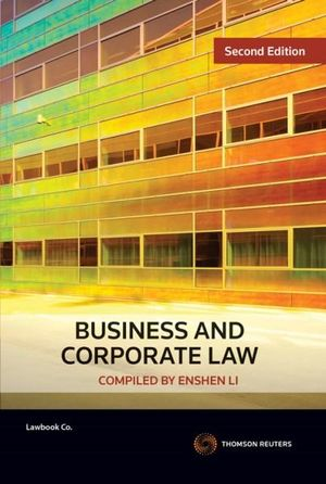 Cover of Business and Corporate Law