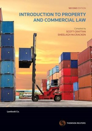 Cover of INTRODUCTION TO PROPERTY AND COMMERCIAL LAW.