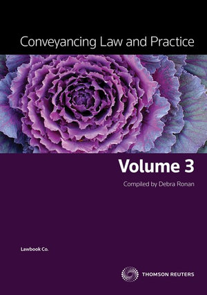 Cover of Conveyancing Law and Practice