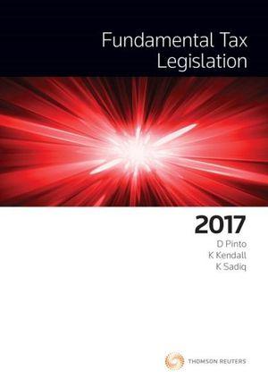 Cover of FUNDAMENTAL TAX LEGISLATION 2017