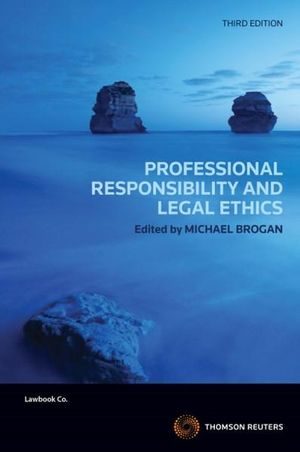 Cover of Professional Responsibility and Legal Ethics