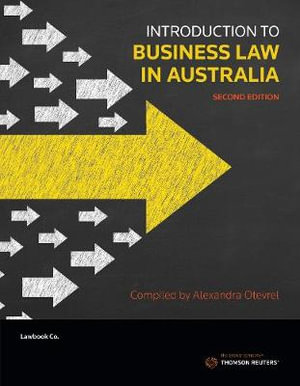 Cover of Introduction to Business Law in Australia