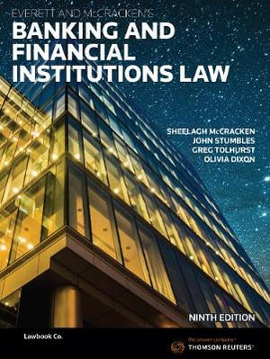 Cover of Everett and McCracken's Banking and Financial Institutions Law