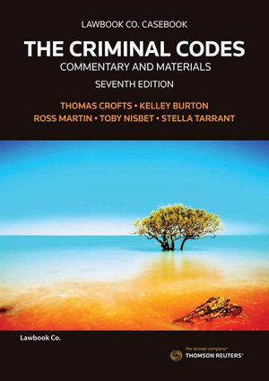 Cover of The Criminal Codes: Commentary & Materials