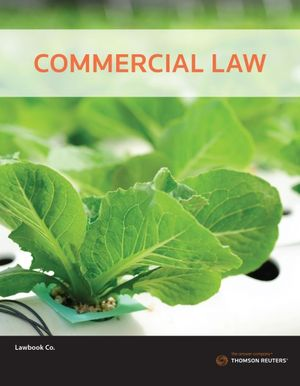 Cover of Commercial Law