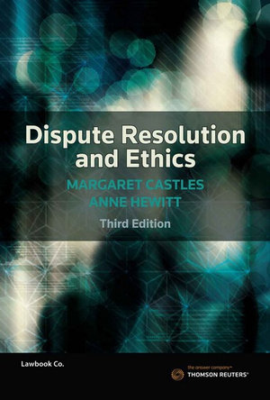 Cover of Dispute Resolution and Ethics