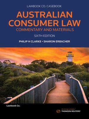 Cover of Australian Consumer Law