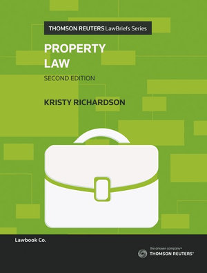 Cover of PROPERTY LAW.