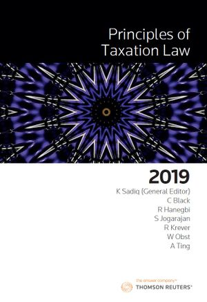 Cover of PRINCIPLES OF TAXATION LAW 2019
