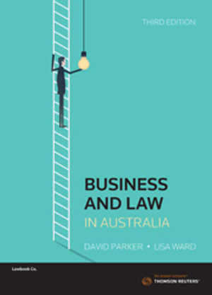 Cover of BUSINESS AND LAW IN AUSTRALIA 3RD ED.