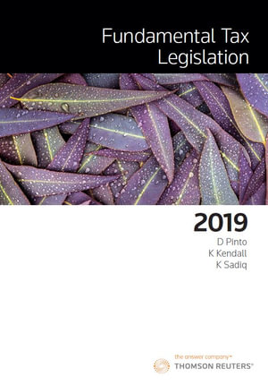 Cover of FUNDAMENTAL TAX LEGISLATION 2019
