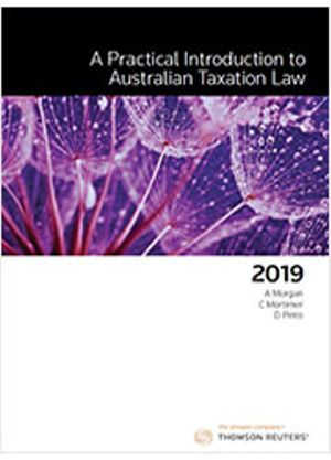 Cover of PRACTICAL INTRODUCTION TO AUSTRALIAN TAX 2019