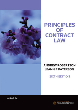 Cover of PRINCIPLES OF CONTRACT LAW.