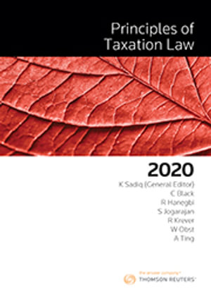 Cover of Principles of Taxation Law 2020