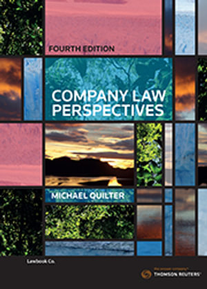 Cover of COMPANY LAW PERSPECTIVES.