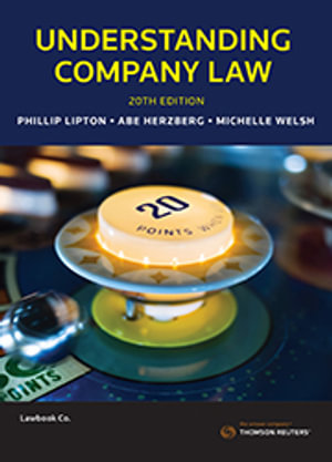 Cover of UNDERSTANDING COMPANY LAW.