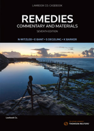 Cover of REMEDIES COMMENTARY AND MATERIALS.