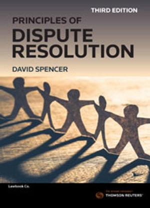 Cover of PRINCIPLES OF DISPUTE RESOLUTION.