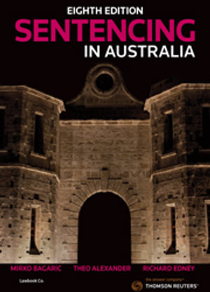 Cover of SENTENCING IN AUSTRALIA.