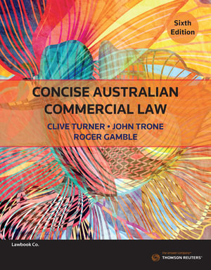 Cover of CONCISE AUSTRALIAN COMMERCIAL LAW.