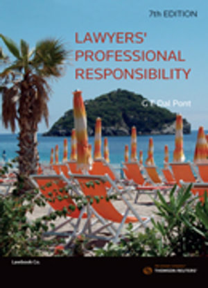 Cover of LAWYERS' PROFESSIONAL RESPONSIBILITY.