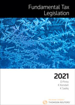 Cover of FUNDAMENTAL TAX LEGISLATION 2021
