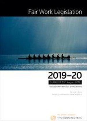 Cover of Fair Work Legislation 2019-20