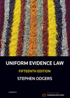 Cover of UNIFORM EVIDENCE LAW 15E.