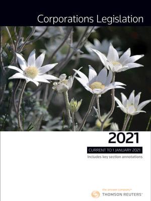 Cover of CORPORATIONS LEGISLATION 2021