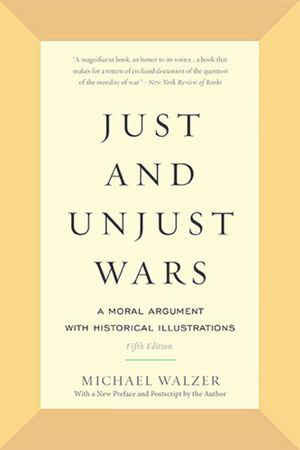 Cover of Just and Unjust Wars
